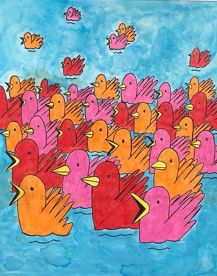 """Migration"" (8x10)"