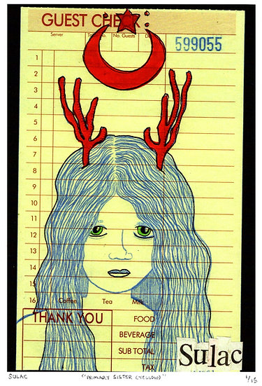 """""""PrimaryTriplet (Red)"""" (8x10) Print"""