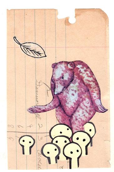 """Choreography Killed the Bear"" (8x10) Print"