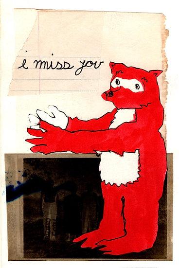 """I Miss You"" (8x10) - Print"