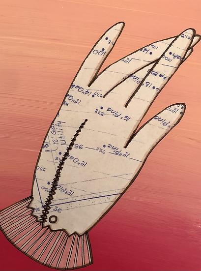 """""""B Glove"""" (6x8)"""