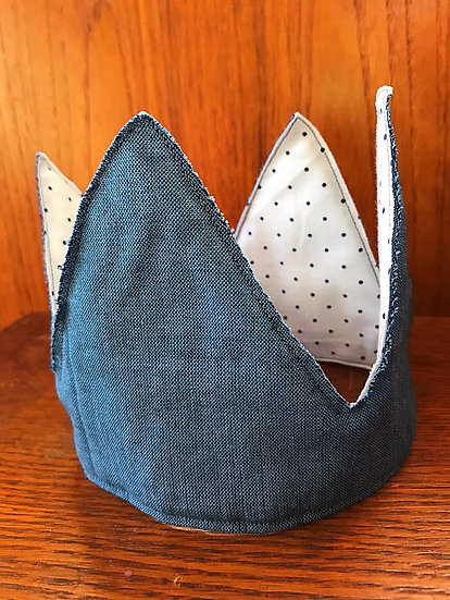 Blue and Dot Crown