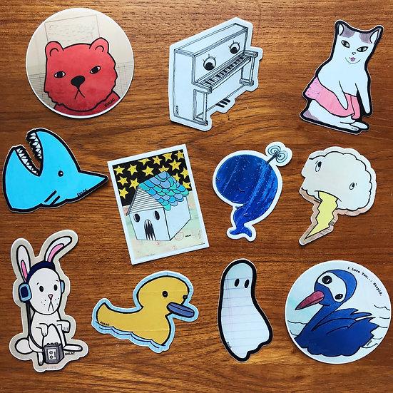 Sticker 4-pack