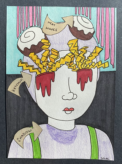 """French Fries In My Eyes"" (6x8)"