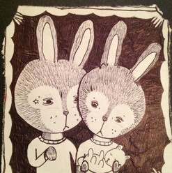 """Couple of Bunnies"""