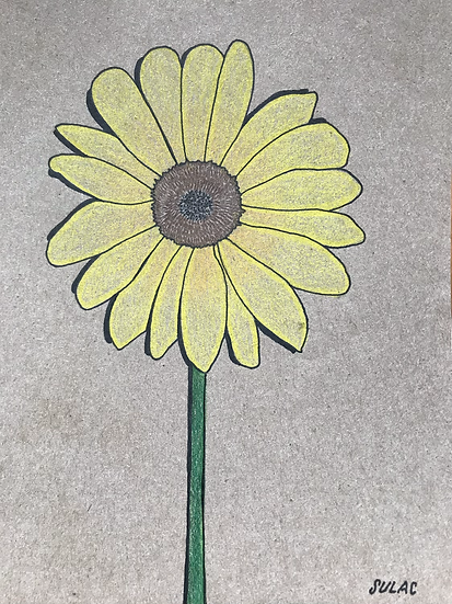"""Sunflower"" (6x8)"