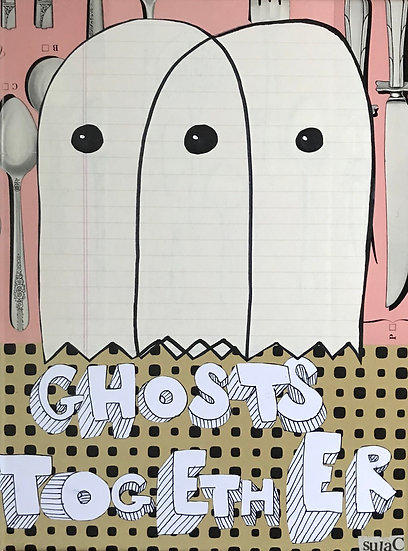 """""""Ghosts Together"""" (8x10) - Print"""