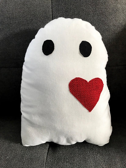 Love Ghost Pillow #1
