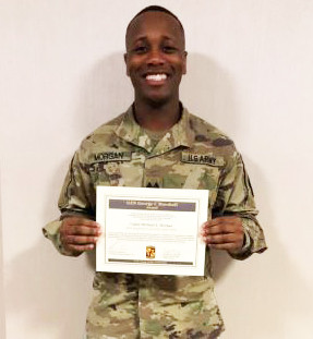 Eastern Wayne High School's  Cadet Michael Morgan