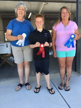 Blueberry Dessert Contest Winners at Farm Credit Farmers Market