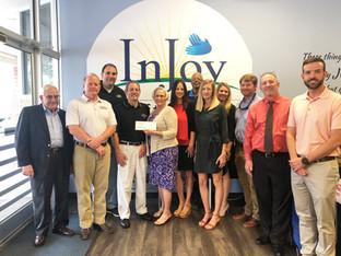 InJoy Thrift Store Donates $4,000