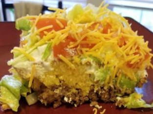 Yummy Taco Cornbread Casserole