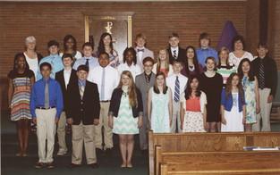 St. Mary's Graduates 8th Graders