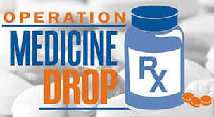 Operation Medicine Drop Drive Thru Medicine Take Back Event