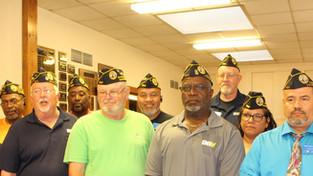 DAV Installs new Line Officers