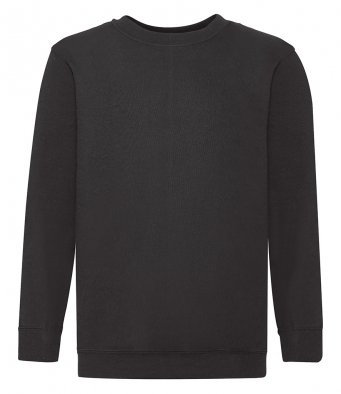 Plain Black PE sweatshirt £7.50