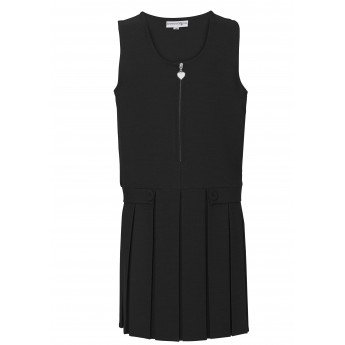 Black School pinafore £11.50