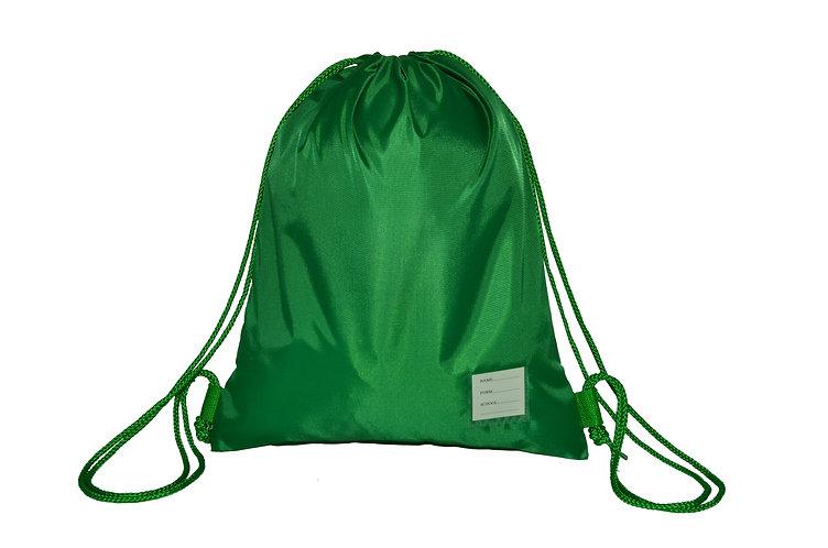 Large PE bag with Saxon logo £7.00