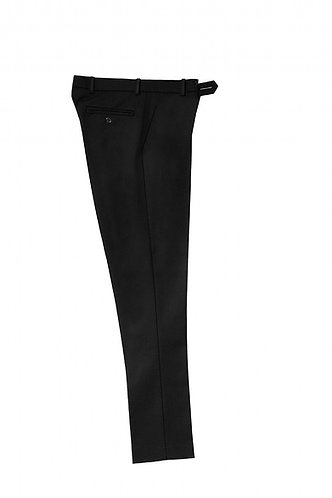 Halliford slim fit charcoal trouser. Banner from £15.95