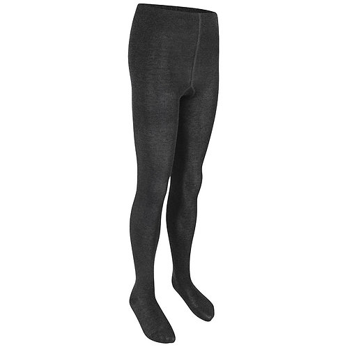 Black School tights 2 pair pack £9.00