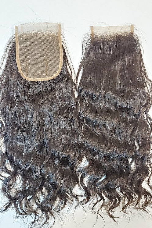 "5""x5"" Closure - Cambodian Natural Wave 16"" Length"