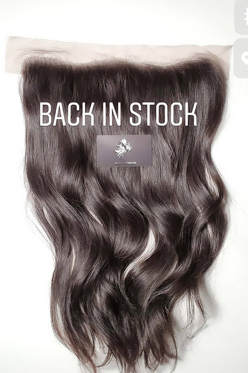 """16"""" Luxurious Natural Straight Frontal 13x4 Inches"""