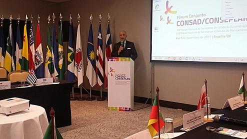105º Fórum Nacional de Secretários de Estado da Administração e Fórum Conjunto CONSAD/CONSEPLAN