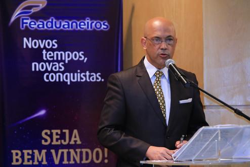 FEADUANEIROS empossa nova diretoria.