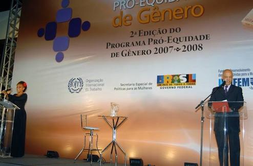2ª Edição do Programa pró-equidade de gênero