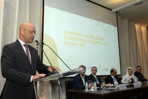 Brasil e Irã discutem relações econômicas.