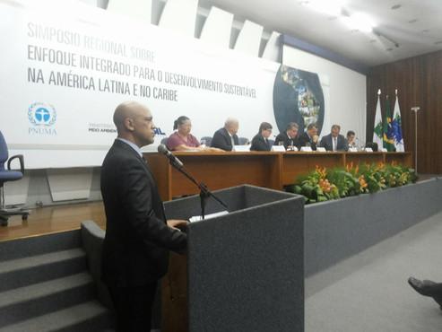 """IBAMA realiza Simpósio Regional """"Enfoque Integrado para o Desenvolvimento Sustentável na Améric"""