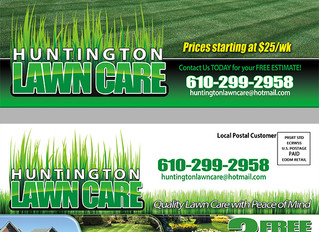What's a good special offer for getting lawn care customers?