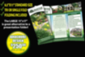 brochures for your lawn and landscaping business