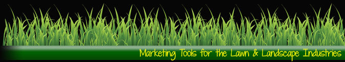 marketing postcards and door hangers for your lawn and landscape business