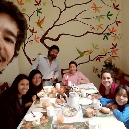 Fazendo famílias no Ecuador