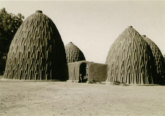 Arquitetura com terra Musgum, grupo étnico camaronês