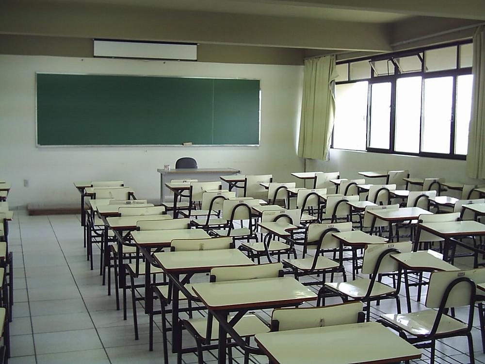 Figura 2: sala de aula. Fonte: http://www.noticiasnoleste.com.br/?p=4253