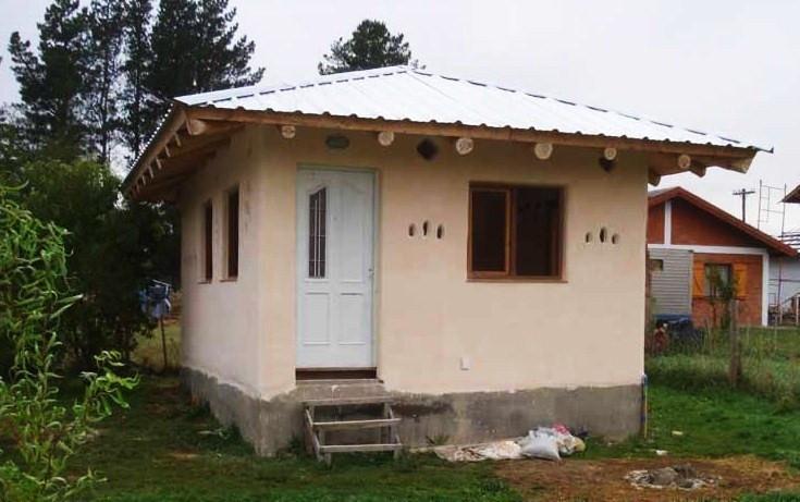 Casa de pau-a-pique na Argentina, feita pelo bioconstrutor Jorge Belanko. Foto: Jorge Belanko