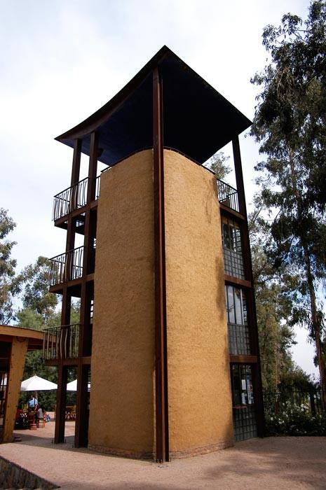 Granja Aventura, construção de pau-a-pique no Chile, do arquiteto Marcelo Cortés. Foto: Marcelo Cortés