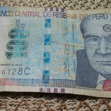 Moeda e Gastos, no Peru