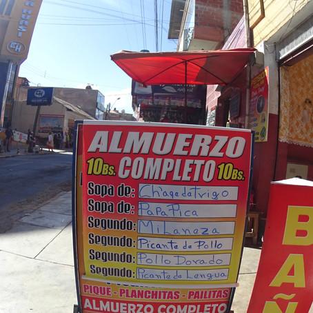 Moeda e Gastos, na Bolívia