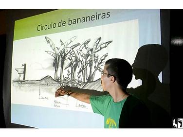 palestra saneamento ecológico, ecovila El Nagual