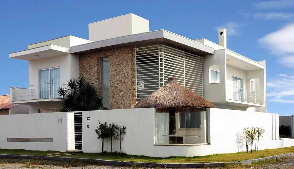 Exemplo de arquitetura contemporânea.