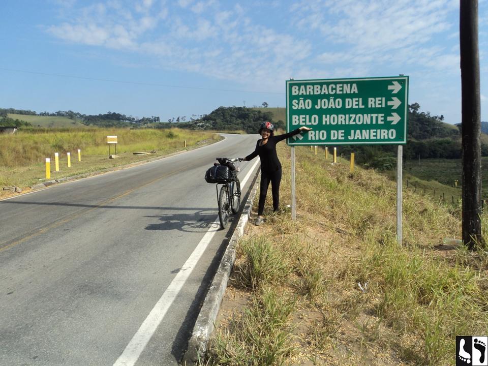 Depois da subida da serra de Santa Bárbara do Tugúrio (parte da Serra da Mantiqueira).