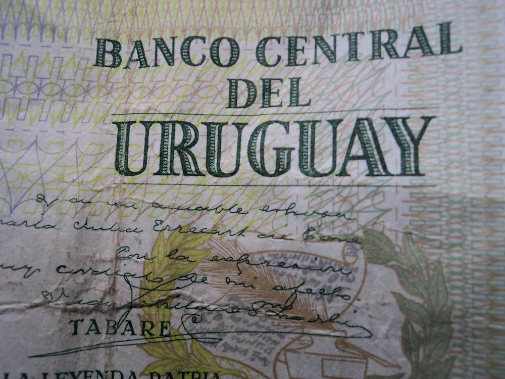 20 pesos uruguayos