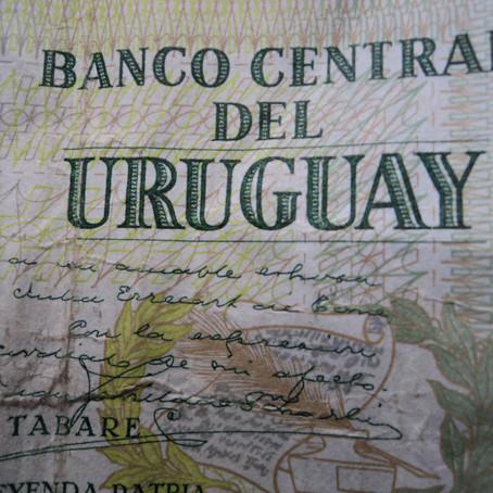 A moeda, no Uruguai
