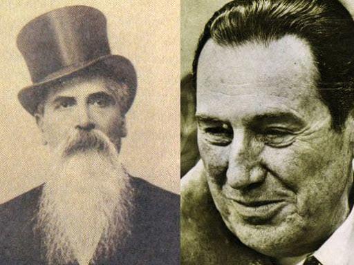 Alem y Perón, los fundadores