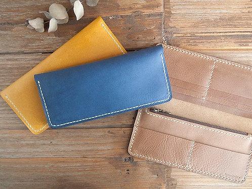 Black series long wallet
