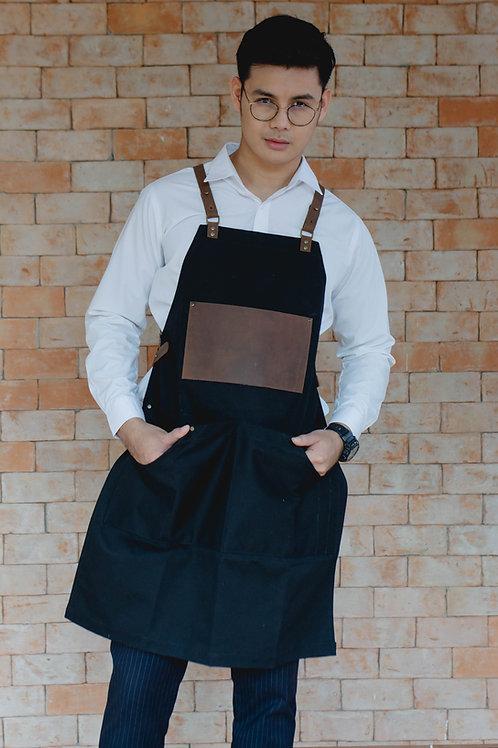 Waterproof canvas apron