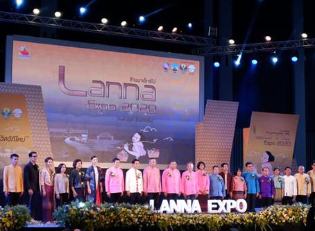 พิธีเปิดงาน Lanna Expo 2020